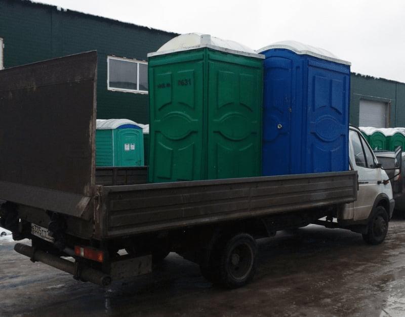 Туалетные кабины для стройплощадки