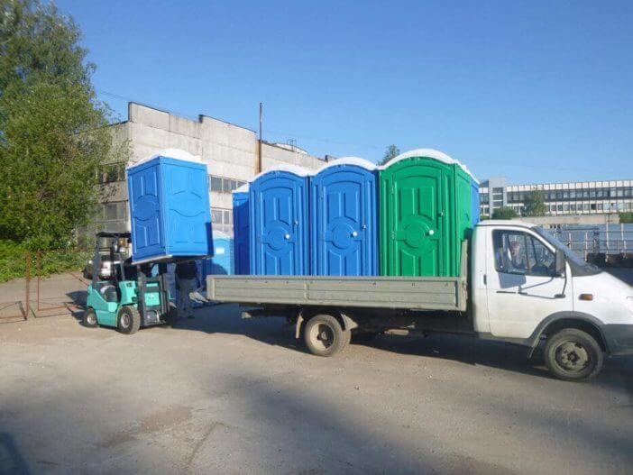 Продажа туалетных кабин с обслуживанием