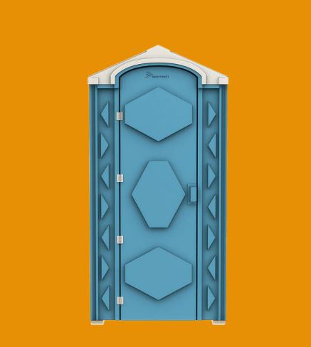 Кабина туалетная «Эконом»